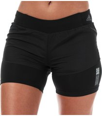 womens adapt to chaos 3-inch shorts