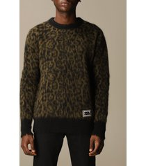 golden goose sweater golden goose pullover in mohair and animalier alpacap