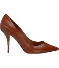 decolletes decoltè scarpe donna con tacco pelle cardinale
