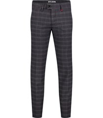 pantalon mac donkerblauw geruit lennox