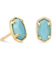 kendra scott emilie stone stud earrings