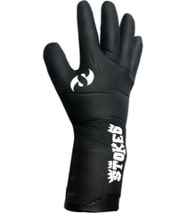 guantes de surf negro stoked