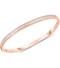 arabella swarovski zirconia bangle bracelet