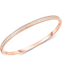 arabella swarovski zirconia bangle bracelet