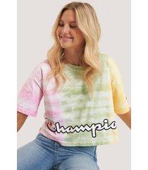 champion t-shirt med rund halsringning - multicolor