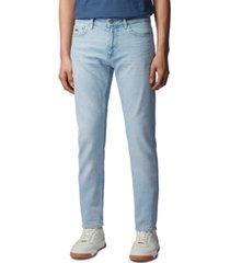 boss men's delaware light pastel blue jeans