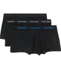 calvin klein underwear logo waistband boxers - black