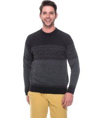 blusa jacar passion tricot tribal preto
