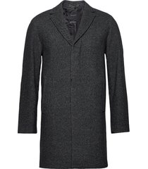 slhhagen wool coat b wollen jas lange jas grijs selected homme