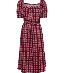 aiko knälång klänning rosa baum und pferdgarten