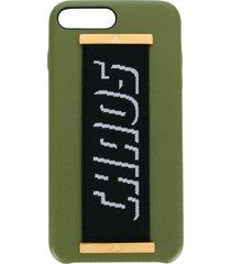 chaos elastic hand hug iphone 7/8 case - green