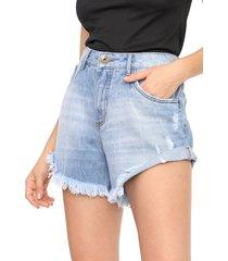 short jeans my favorite thing(s) estonado azul