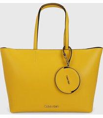 bolso amarillo calvin klein