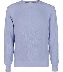 brunello cucinelli light blue cotton sweatshirt