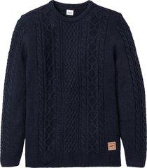 maglione operato (blu) - john baner jeanswear