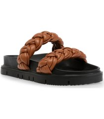 steve madden women's choice braided footbed sandals