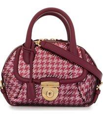 salvatore ferragamo pre-owned 2010s fiamma sequin tote bag - pink