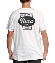 rvca men's decca graphic t-shirt