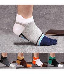 five toes calze fancies elastico rinforzato deodorante sport casual calzini per uomini