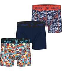 gaubert 3 pak heren boxershorts bamboe set 8-xl