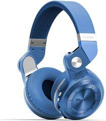 audifonos bluetooth, t2 original auriculares estéreo audifonos bluetooth manos libres  inalámbrico 4.1 auriculares hurrican series en el oído auriculares (azul)