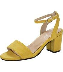 sandaletter klingel gul
