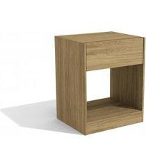 mesa de cabeceira 1 gaveta kappesberg versa cor itapua