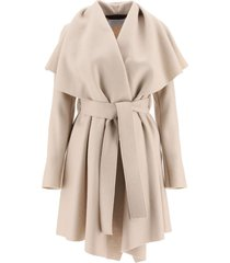harris wharf london belted midi coat