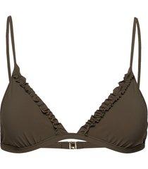 frill triangle top bikinitop filippa k soft sport