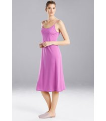 natori shangri-la nightgown, women's, red, size s natori