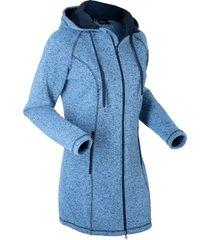 giaccone in maglia con pile (blu) - bpc bonprix collection