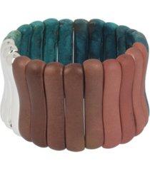 robert lee morris soho ombre patina stretch bracelet