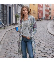 story in bloom cardigan sweater