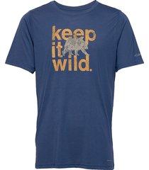 terra vale™ ii ss tee t-shirts short-sleeved blå columbia