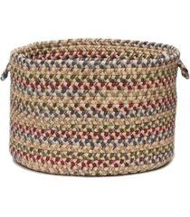 colonial mills twilight braided storage basket