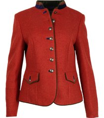 white label blazer 726536/7955 rood