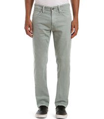 men's mavi jeans marcus slim straight leg jeans, size 36 x 30 - green