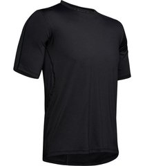 ua rush run shortsleeve - camiseta manga corta de hombre para correr marca under armour