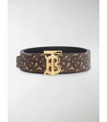 burberry reversible tb monogram belt