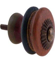 puxador-pashmina-puxador porta madeira - marrom - dafiti