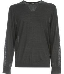 z zegna round neck 100% wool sweater