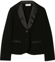 monnalisa black smoking jacket
