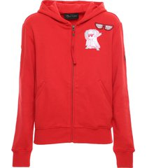 chinese new year 2020 red sweatshirt for woman