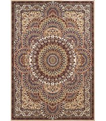 "asbury looms antiquities sarouk 1900 01215 33 ivory 2'7"" x 3'11"" area rug"