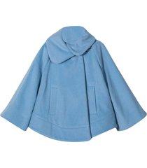 fay light blue cape