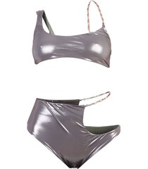 asymmetric design bikini