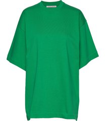 ononis t-shirts & tops short-sleeved groen tiger of sweden