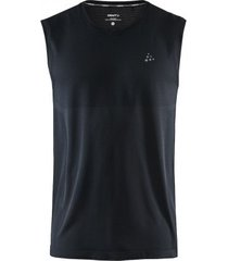 craft tanktop men fuseknit light rn sl black