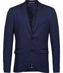 mageorge jersey blazer colbert blauw matinique