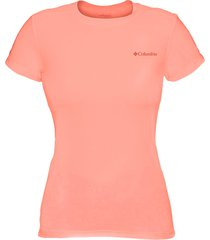 camiseta cool breeze mc fem 320310 - columbia